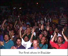 P4 audience at Boulder